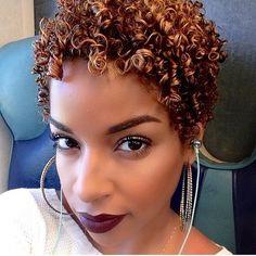Beauty by Lee ~♡~ Purple Natural Hair, Natural Hair Short Cuts, Green Hair, Natural Hair Styles, Short Hair Styles, Au Natural, Natural Life, Natural Texture, Twa Hairstyles