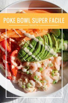 Recette de poke bowl super facile