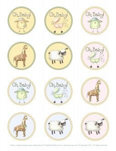 Papers Quenalbertini Cupcake Toppers Imprimolandia Printables S Sbook And Layouts