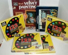 Spent lots of hours doing  paint by number as a kid.
