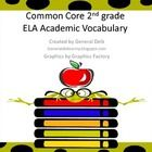 These words were chosen from the 2nd  grade Common Core standards. Use these words on your word wall, or as flash cards during whole and small grou...