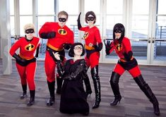 Image result for incredibles group costumes