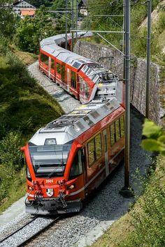 By Train, Train Tracks, Train Rides, Trains, Rail Transport, Swiss Railways, Transport Companies, Electric Train, Train Pictures