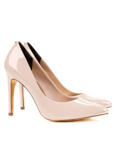 Shop: NEEVOPatent pointed court shoes $185 #staycationinpacheightss
