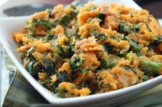 Sweet Potato & Kale Colcannon