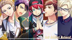 Autumn Group Anime Girl Drawings, Anime Artwork, Hot Anime Guys, Anime Boys, Tsukiuta The Animation, Alice, Hisoka, Pretty Boys, Cool Art