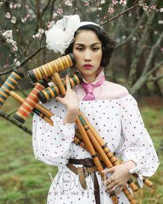 Romantic Sport Fashion - Vogue Korea April 2010 Takes it Back to the '50s (GALLERY)