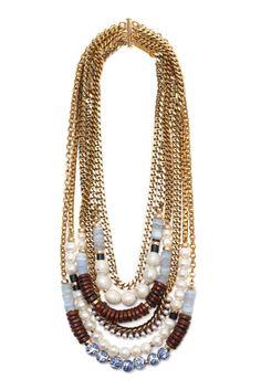 Spring 2014 Runway Jewelry Accessories Lizzie Fortunato