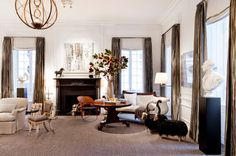 2014 Holiday House NYC - I like these window treatments for the pool room