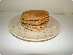 Panquecas integrais (farinha integral e milho) de Maçã e Canela   Pequeno-Almoço #Nhammm