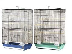 BIRD - CAGES: SMALL BIRDS - FLIGHT CAGE 26X14X36 - 2/CS - PREVUE PET PRODUCTS, INC - UPC: 48081426142 - DEPT: BIRD PRODUCTS
