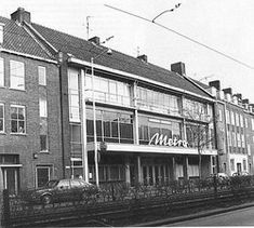 Rotterdam zwart-wit foto's/W/Wolhaertsbocht Metro-bios Rotterdam, Holland Netherlands, Paradise On Earth, Louvre, Cinema, Street View, Europe, City, Building