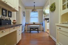 pendant light from Home Depot  traditional dining room by Sarah Greenman