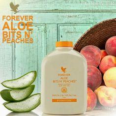 Forever Aloe Bits N' Peaches Az Aloe Vera tiszta, tápláló darabkái a napérlelte őszibarack ízében megfürdetve utánozhatatlan ízt eredményeznek. Az Aloe Verát évszázadokon keresztül egészségük megőrzésére használták az emberek. Az őszibarackkal az Aloe Verához karotenoidokat adtunk – ezek értékes antioxidánsok és A-vitamin források, melyek nélkülözhetetlenek az immunrendszer megfelelő működésének fenntartásához.