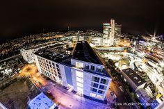 Hoch über den Dächern von Stuttgart am Bahnhof. http://www.dirk-mueller-photography.com