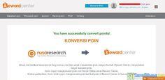 Proses konversi poin Nusaresearch sukses | SurveiDibayar.com Survey Sites That Pay, Paid Surveys