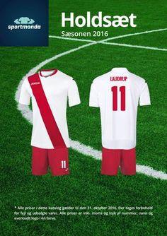 Holdsæt til fodbold og andre holdsportsgrene. Design selv dit eget spillesæt fra Joma, Macron og Atmo.