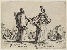 Balli di Sfessania Callot Jacques (1592-1635), Louvre