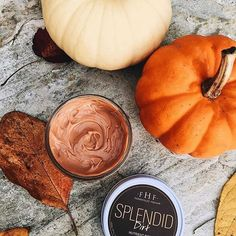 """Just because #Halloween is over doesn't mean our #pumpkin obsession has to be...so we're gearing up for the week ahead with our Splendid Dirt Mud Mask! With fresh enzyme-full pumpkin puree - radiance is boosted!  @alyshamelnyk snapped this pic, raving that Splendid Dirt """"smells like pumpkin sugar cookie goodness!"""" Sounds scrumptious to us! #fhf #farmhousefresh #TeamPumpkin #monday #newweek #facemask #MASKinthegoodness"""