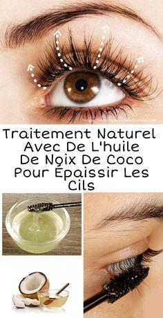 Natural treatment with coconut oil to thicken the eyelashes - Beauty Tips - Beauty Tips For Face, Natural Beauty Tips, Natural Hair Styles, Beauty Care, Diy Beauty, Beauty Hacks, Tips For Oily Skin, Skin Care Tips, Mascara Hacks