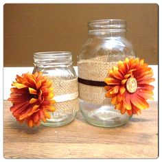 fall bridal shower ideas | We decided on a