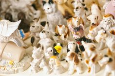 Lots of cute animal ornaments on offer.