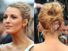 "Blake Lively completed her Cinderella-inspired ensemble with a pink diamond Lorraine Schwartz headband as her ""tiara"" – then revealed the fairytale-worthy pink sapphire-encrusted flower (also by the designer) hiding under her chignon."