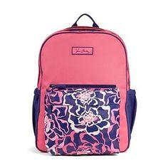 Vera Bradley Large Colorblock Backpack