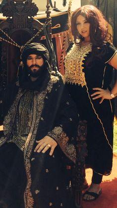 Chantalle Vermeulen Arabic & Cor Vermeulen as Salahadin