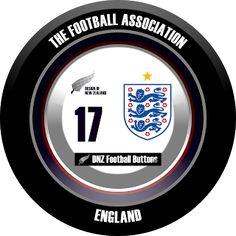 DNZ Football Buttons: Seleção da Inglaterra