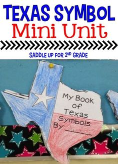 Are you looking for a fun way to teach the Texas symbols? This unit features an engaging Texas shaped flip book along with other activities that is perfect for teaching this unit. Your students will love it!