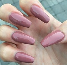 Best Acrylic Nails for 2017 - 54 Trending Acrylic Nail Designs - Best Nail Art Acrylic Nails Natural, Best Acrylic Nails, Acrylic Nail Designs, Ballerina Acrylic Nails, Natural Nails, Gorgeous Nails, Love Nails, Pretty Nails, Fun Nails