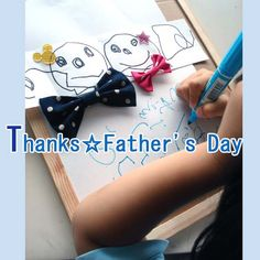 Thanks! father♪