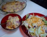 Cauliflower & Ham Bake Recipe -   I think I might substitute chicken with this