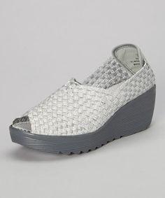 Love this Silver Saison Slip-On Shoe by Serene Comfort on #zulily! #zulilyfinds