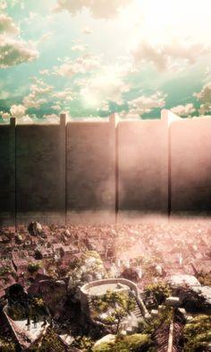Dark side of the moon; Aot Wallpaper, Wallpaper Animes, Scenery Wallpaper, Animes Wallpapers, Cute Wallpapers, Attack On Titan Season, Attack On Titan Fanart, Attack On Titan Levi, Vintage Anime