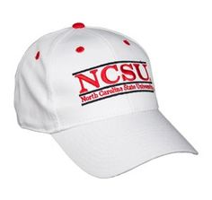 North Carolina State Snapback College Bar Hats by The Game