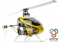 The E-Flite Blade 200 SR X features the latest in radio controlled helicopter innovations. Utilizing SAFE technology, the R/C Blade 200 SR X maintains superior stability in three flight modes.
