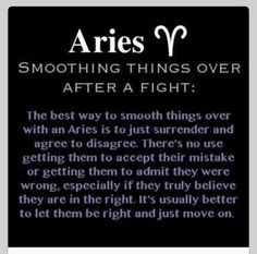 All about Aries....