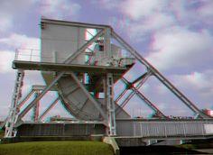 https://flic.kr/p/yz8ZhB   Pegasus bridge d-day Normandy 3D   anaglyph stereo red/cyan