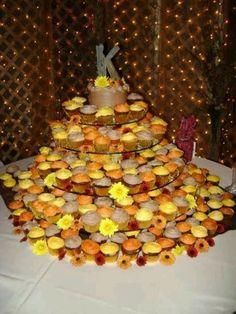 Fall themed Wedding