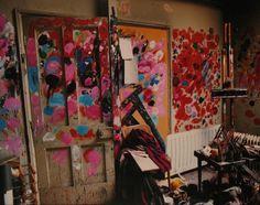 artssake:    Francis Bacon's studio