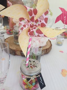 Great wedding table decoration