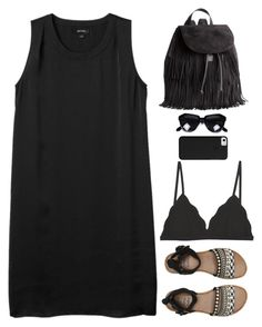 """""""Untitled #2554"""" by wtf-towear ❤ liked on Polyvore featuring Billabong, H&M and Monki"""