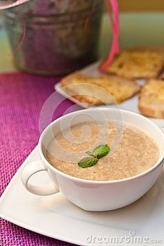 Bowl Of Mushroom Soup - Download From Over 25 Million High Quality Stock Photos, Images, Vectors. Sign up for FREE today. Image: 43169905