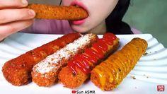 Mukbang Korean, Korean Food, Black Hair Video, Food Vids, Asmr Video, Eat Fruit, People Eating, Oddly Satisfying, Cravings