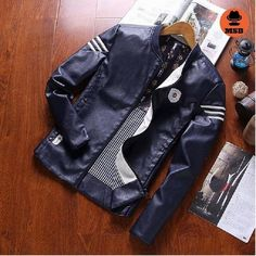 New men's fashion casual leather jacket  BUY NOW ONLY FOR $65.00  Only this week your one time special discount for ALL is 12% with code: MSB12 !♛ http://www.mens-style24.com ♛! Free worldwide shipping!  #mensfashion #mensfashions #Mens #Fashion #FashionBlog #Dapper #jeans#Guys #Boys #streetstyle #Urban #menswear #menstyle #shirt #usa #shirts #jackets #coat #coats #hoodies #denim #jeans #pants #streetwear #streetstyle #newrelease #sale #blazer #style #menstyle