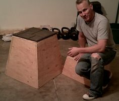 How to make plyo box for home