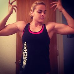 Ignore my face but I'm loving my biceps, shoulders and delts today!  still not quite where I want to be, but I'm working on it  #fitfam #fitness #fitgirls #fitforlife #strong #stayfit #strongwomen #strongnotskinny #muscles #musclehustle #crossfit #womenofcrossfit #crossfitter #crossfitgirls #crossfitladies #instafit #liftingladies #ilift - http://girlsworkhard.com/ignore-my-face-but-im-loving-my-biceps-shoulders-and-delts-today-still-not-quite-where-i-want-to-be-but-im-workin