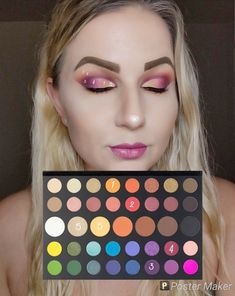 Look By Numbers Jamea Charles PaletteYou can find Makeup looks with james charles palette and more on our website.Look By Numbers Jamea Charles Palette Make Up Palette, Diy Makeup Palette, New Makeup Palettes, Can Makeup, Eye Makeup Art, Makeup Kit, Makeup Ideas, Makeup Primer, Makeup Tutorials